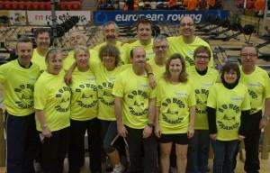 Les participants aux  Championnats d'Europe