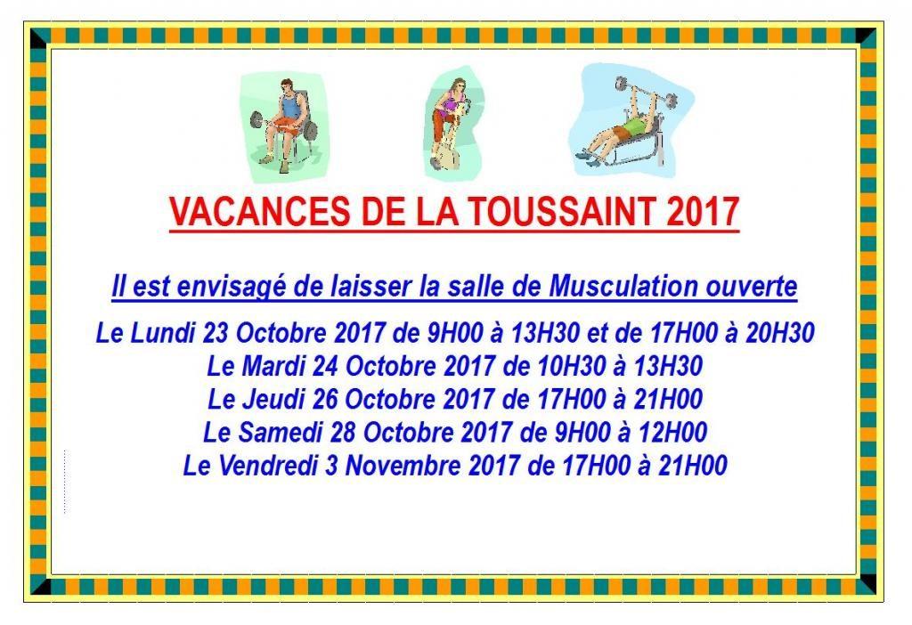 Vacances De La Toussaint A O Buc Remise En Forme
